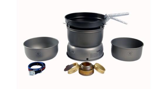 Trangia 25-3 UL ALU HA retkikeitin hard-geanodiseerd aluminium, non-stick pan , harmaa